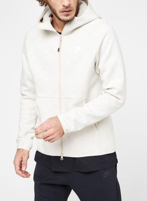 Tøj Nike M Nike Sportwear Tech Fleece Hoodie Full Zip Grå Se fra højre