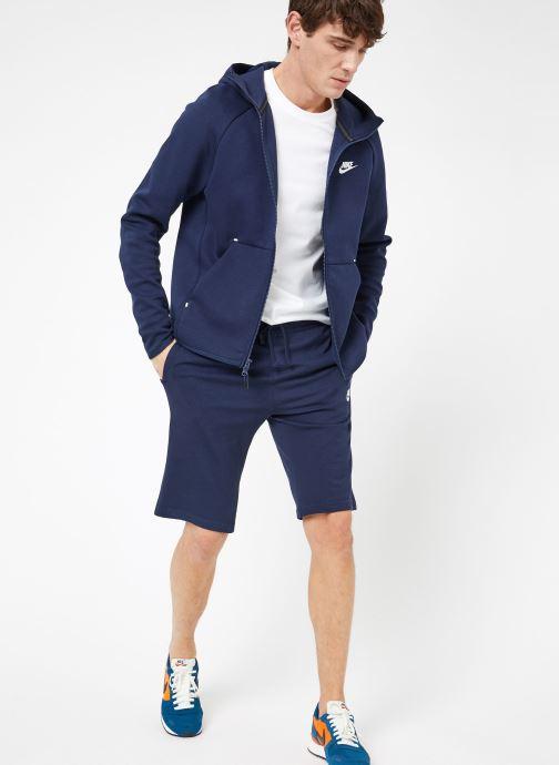 Tøj Nike M Nike Sportwear Tech Fleece Hoodie Full Zip Blå se forneden