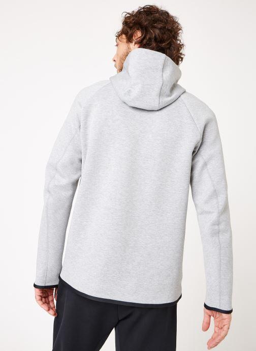 Kleding Nike M Nike Sportwear Tech Fleece Hoodie Po Grijs model