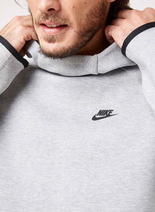 Kleding Nike M Nike Sportwear Tech Fleece Hoodie Po Grijs voorkant