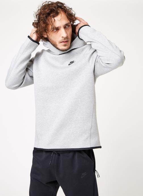 Kleding Nike M Nike Sportwear Tech Fleece Hoodie Po Grijs rechts