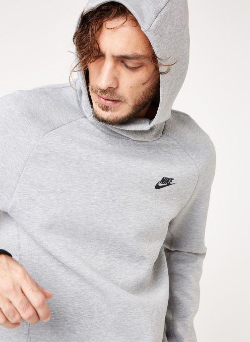 Kleding Nike M Nike Sportwear Tech Fleece Hoodie Po Grijs detail