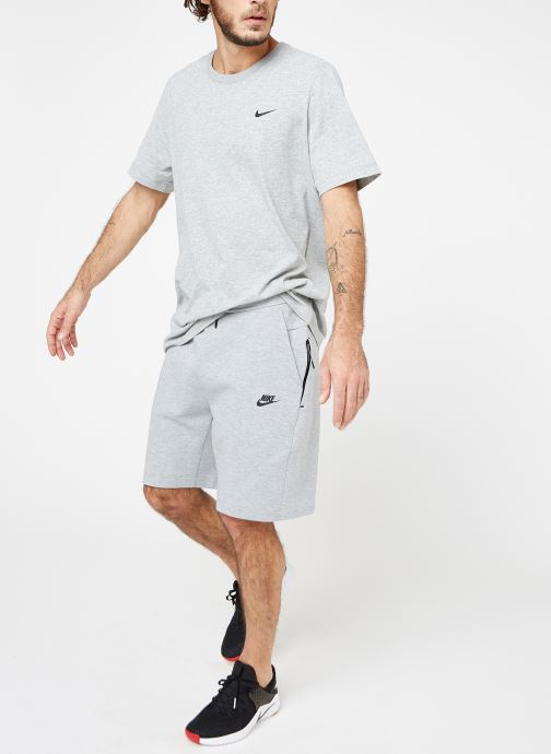 Vêtements Nike M Nike Sportwear Tech Fleece Short Gris vue bas / vue portée sac