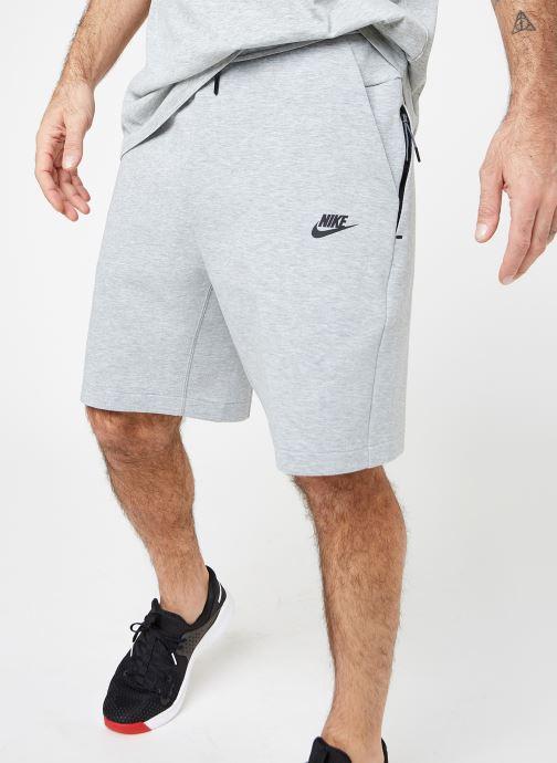 Vêtements Nike M Nike Sportwear Tech Fleece Short Gris vue détail/paire
