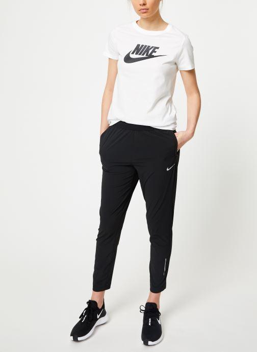 Vêtements Nike W Nike Essential Pant 2 7_8 Noir vue bas / vue portée sac