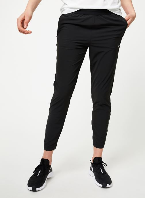 Vêtements Nike W Nike Essential Pant 2 7_8 Noir vue détail/paire