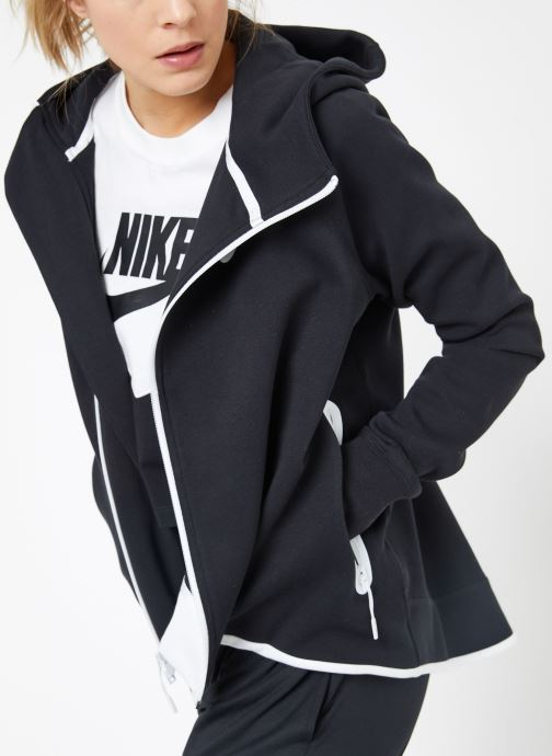Kleding Nike W Nike Sportwear Tech Fleece Cape Full Zip Zwart detail