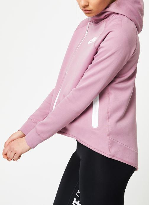 Kleding Nike W Nike Sportwear Tech Fleece Cape Full Zip Paars rechts