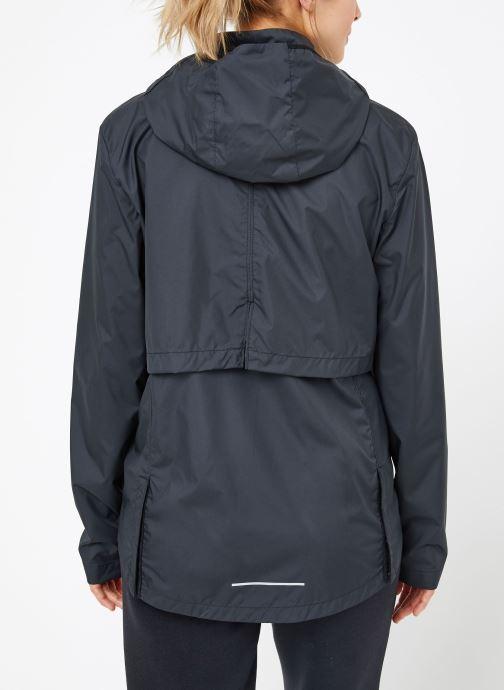 Vêtements Nike W Nike Essential Jacket Hd Noir vue portées chaussures