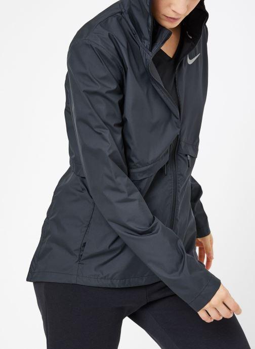 Vêtements Nike W Nike Essential Jacket Hd Noir vue droite