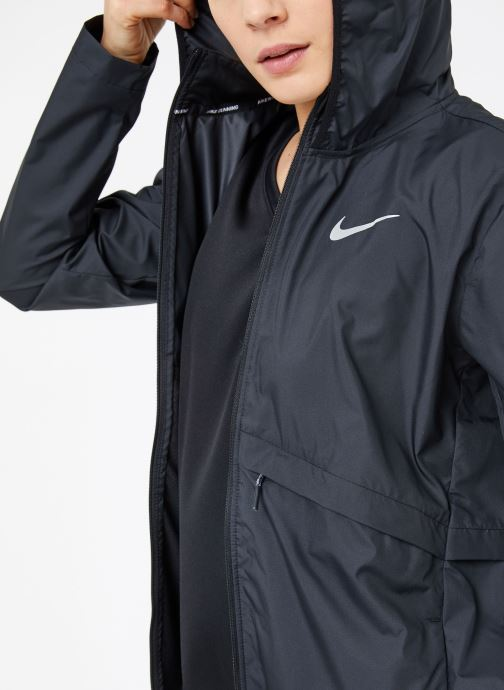 Vêtements Nike W Nike Essential Jacket Hd Noir vue détail/paire