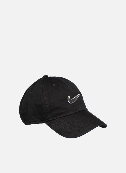 Casquettes Nike U Nike Heritage 86 Cap Essential Swoosh Noir vue face