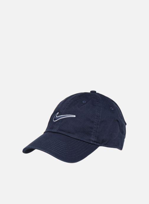 Casquettes Nike U Nike Heritage 86 Cap Essential Swoosh Bleu vue détail/paire