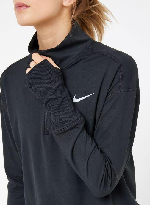 Vêtements Nike W Nike Elmnt Top Hz Noir vue face