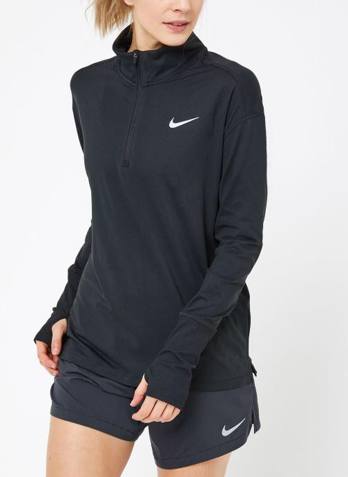 Vêtements Nike W Nike Elmnt Top Hz Noir vue droite