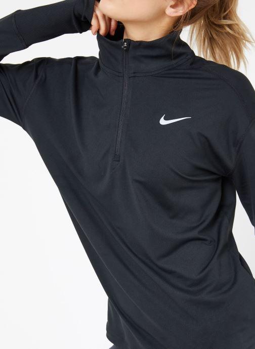 Vêtements Nike W Nike Elmnt Top Hz Noir vue détail/paire