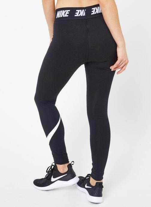 Vêtements Nike W Nike Sportwear Leggings Club Hw Noir vue portées chaussures