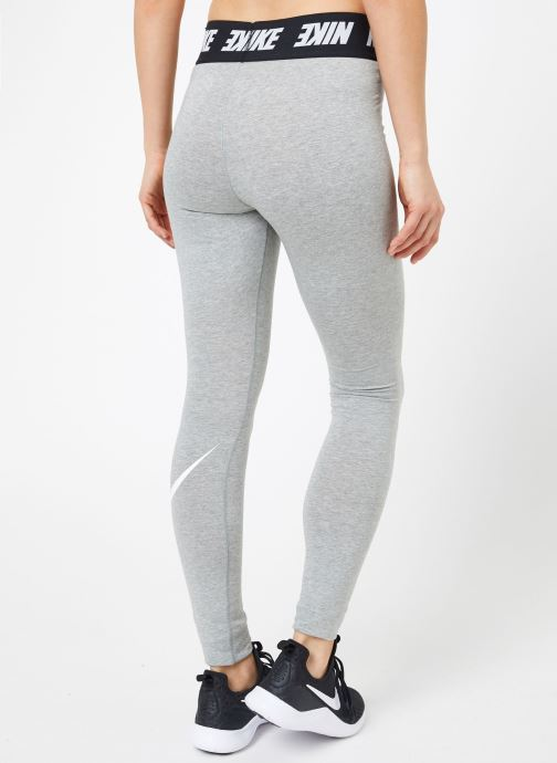 Vêtements Nike W Nike Sportwear Leggings Club Hw Gris vue portées chaussures