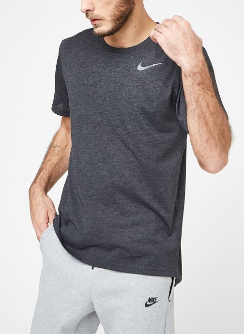 Vêtements Nike M Nike Brt Top Short-Sleeve Hpr Dry Noir vue droite