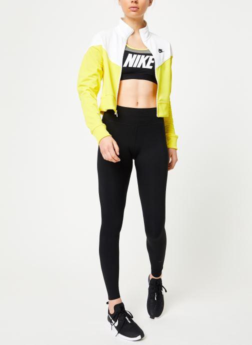 Ropa Nike Nike Sport District ClaShort-Sleeveic Bra Gris vista de abajo