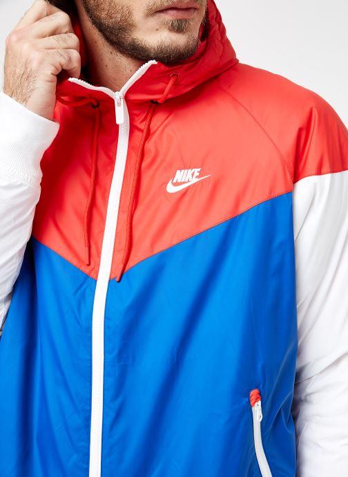 Tøj Nike M Nike Sportwear He Wr Jacket Hd Insltd Blå se forfra