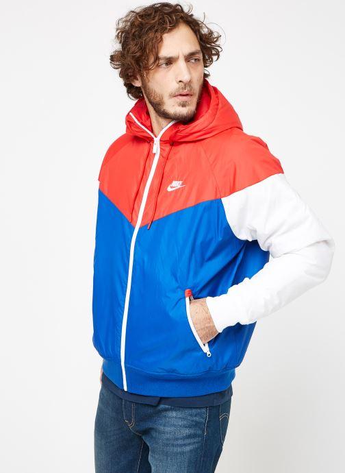 Tøj Nike M Nike Sportwear He Wr Jacket Hd Insltd Blå Se fra højre
