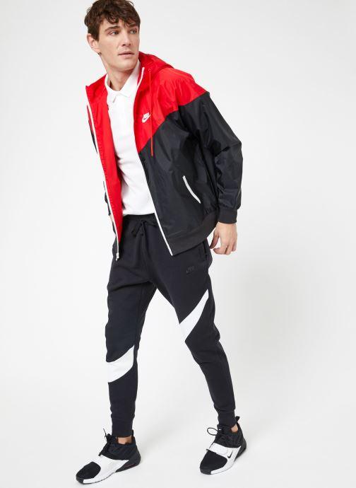 Vêtements Nike M Nike Sportwear He Wr Jacket Hd Noir vue bas / vue portée sac