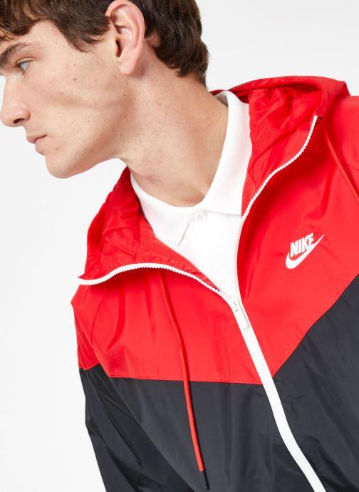 Vêtements Nike M Nike Sportwear He Wr Jacket Hd Noir vue face