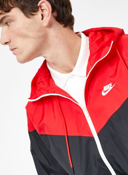 Tøj Nike M Nike Sportwear He Wr Jacket Hd Sort se forfra