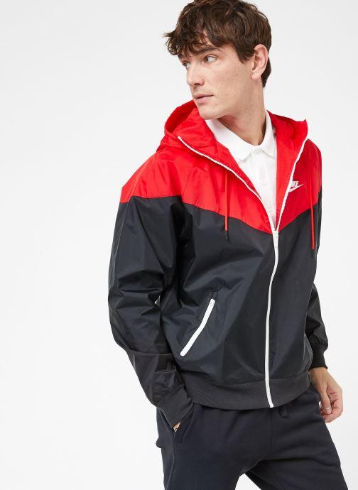Vêtements Nike M Nike Sportwear He Wr Jacket Hd Noir vue droite
