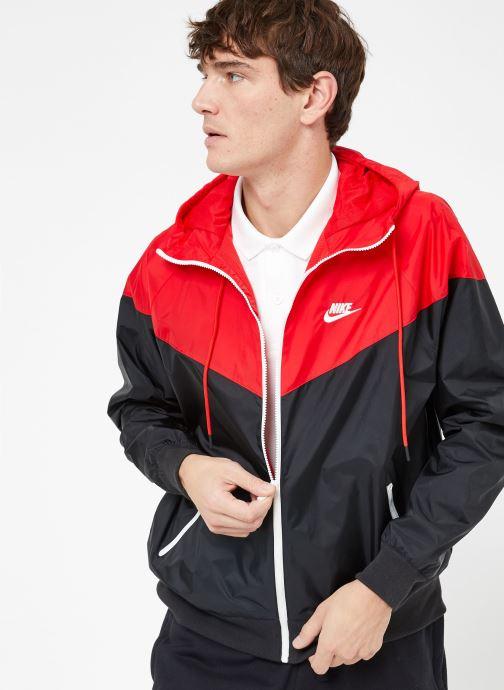 Tøj Nike M Nike Sportwear He Wr Jacket Hd Sort detaljeret billede af skoene