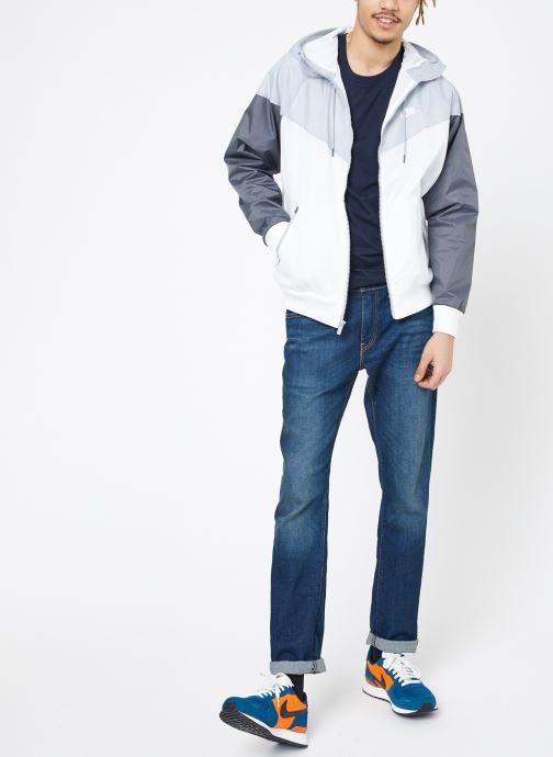 Nike Coupe-vent - M Sportwear He Wr Jacket Hd (blanc) Vêtements(360161)