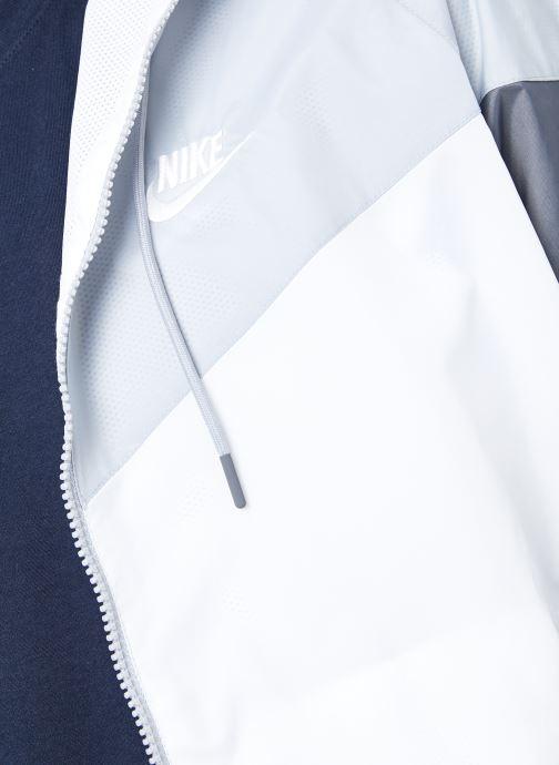 Vêtements Nike M Nike Sportwear He Wr Jacket Hd Blanc vue face