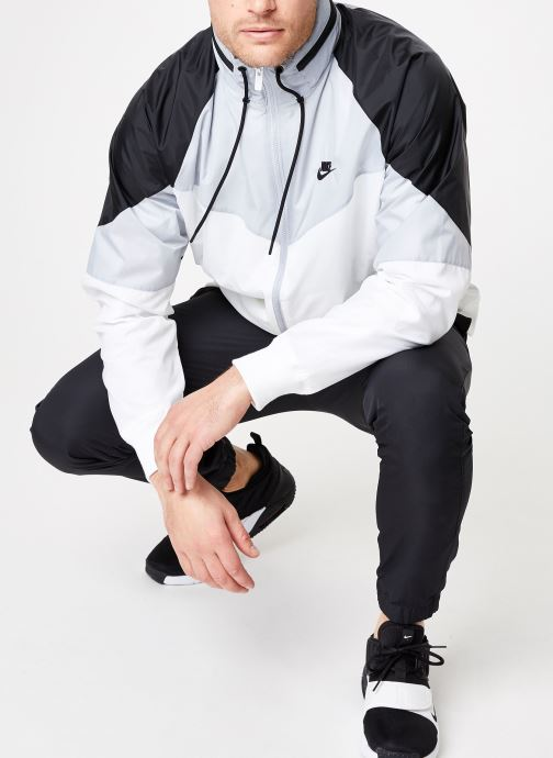 Vêtements Nike M Nike Sportwear He Wr Jacket Hd + Blanc vue bas / vue portée sac