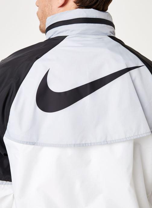 Vêtements Nike M Nike Sportwear He Wr Jacket Hd + Blanc vue face