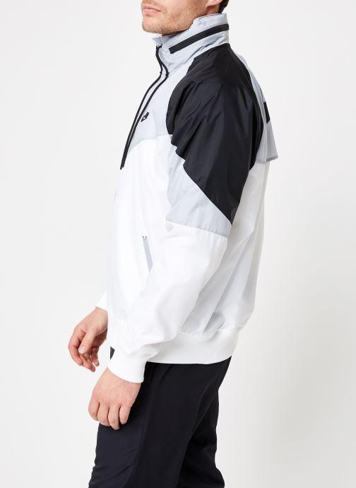 Vêtements Nike M Nike Sportwear He Wr Jacket Hd + Blanc vue droite