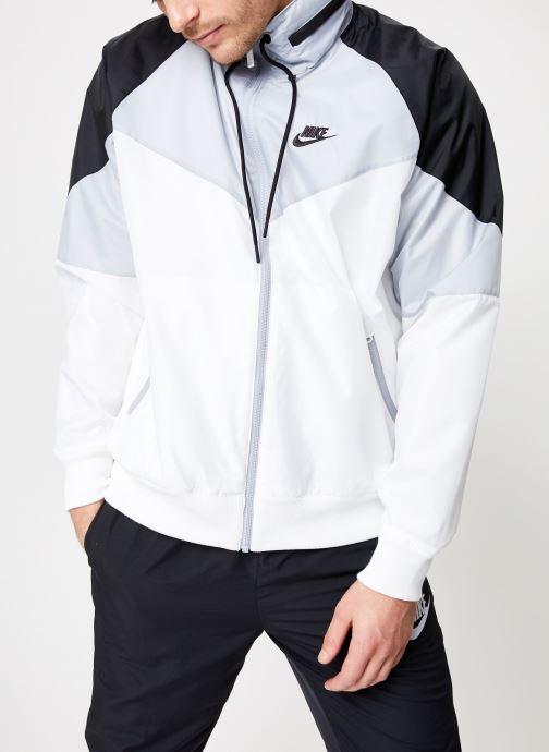 Vêtements Nike M Nike Sportwear He Wr Jacket Hd + Blanc vue détail/paire