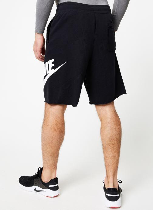Vêtements Nike M Nike Sportwear He Short Ft Alumni Noir vue portées chaussures