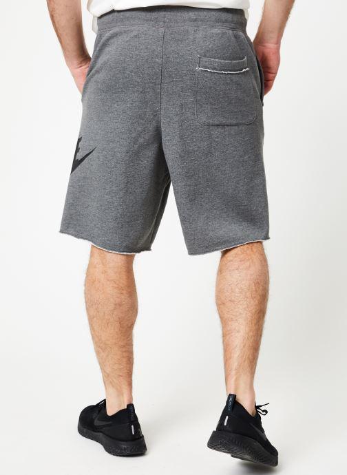 Vêtements Nike M Nike Sportwear He Short Ft Alumni Gris vue portées chaussures