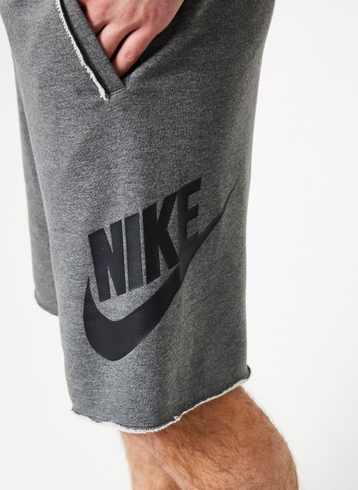 Vêtements Nike M Nike Sportwear He Short Ft Alumni Gris vue face