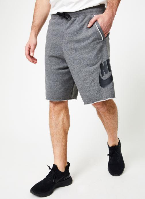 Vêtements Nike M Nike Sportwear He Short Ft Alumni Gris vue détail/paire