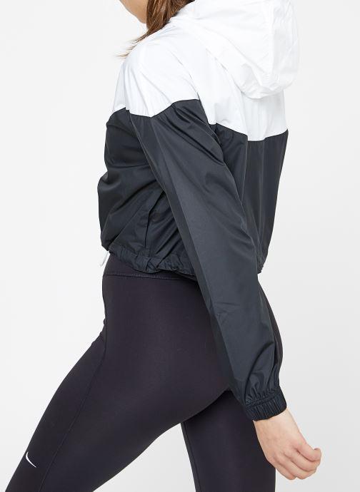 Vêtements Nike W Nike Sportwear Hrtg Jacket Wndbrkr Noir vue portées chaussures