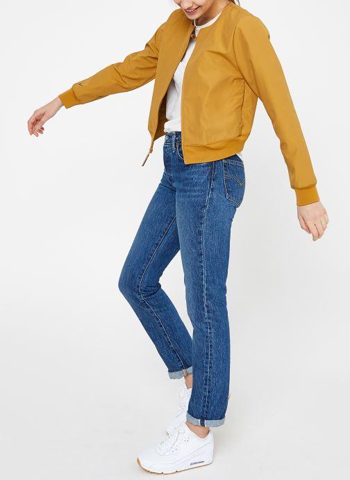 Vêtements Nike W Nike Sportwear Tch Pck Jacket Full Zip Marron vue bas / vue portée sac