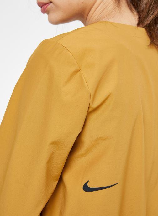 Vêtements Nike W Nike Sportwear Tch Pck Jacket Full Zip Marron vue face