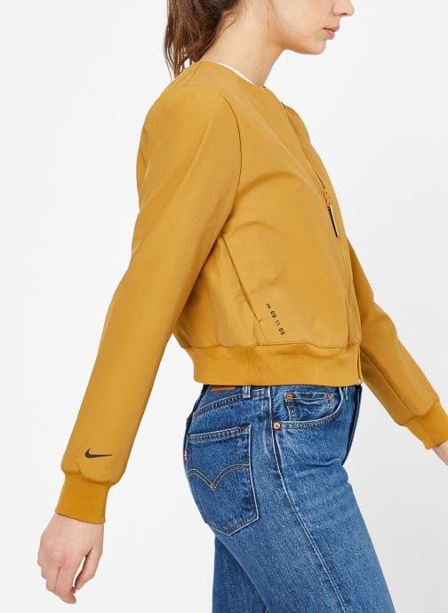 Vêtements Nike W Nike Sportwear Tch Pck Jacket Full Zip Marron vue détail/paire