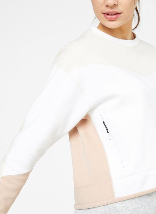 Kleding Nike W Nike Sportwear Tech Fleece Crew Cb Wit detail