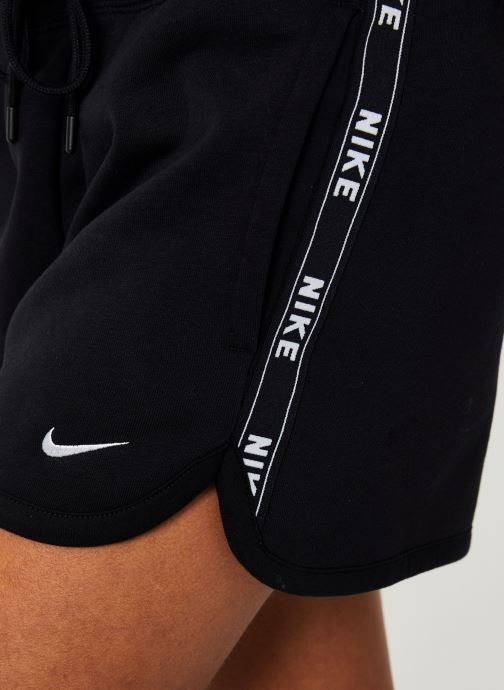 Vêtements Nike W Nike Sportwear Short Flc Logo Tape Noir vue face