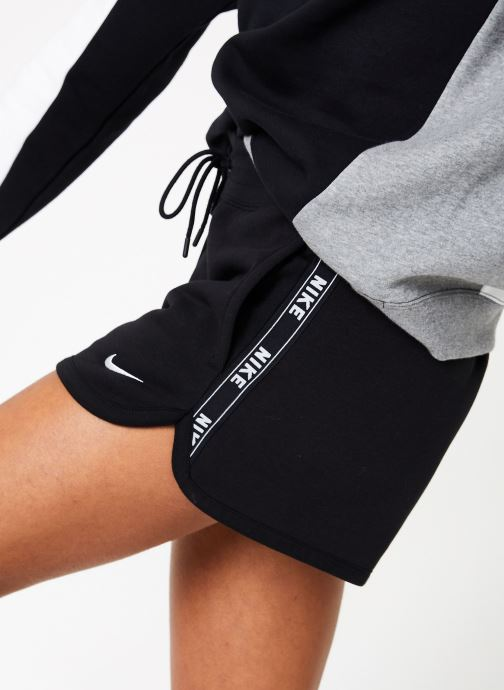 Vêtements Nike W Nike Sportwear Short Flc Logo Tape Noir vue détail/paire