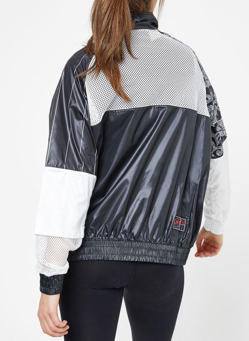 black Nike Vêtements Sportwear Jacket W Black white Trk Wvn rdCoexB