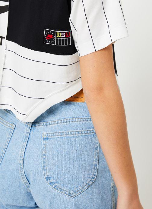 Vêtements Nike W Nike Sportwear Nike Sportwear Top Short-Sleeve Blanc vue face